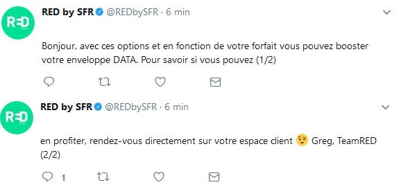 twitter red by sfr