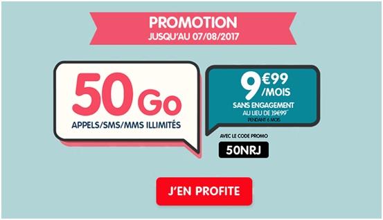 Woot NRJ Mobile 50Go