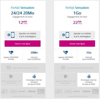 Sensation Bouygues Telecom