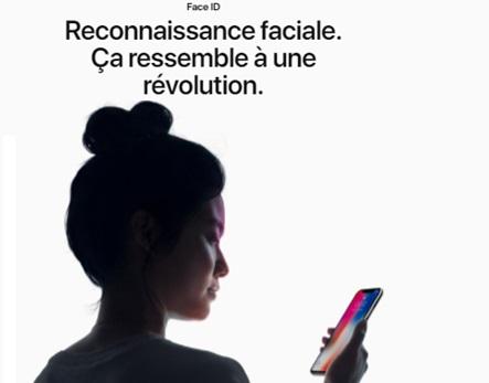 ICI DES MOTS CLÉSface_id-iphonex