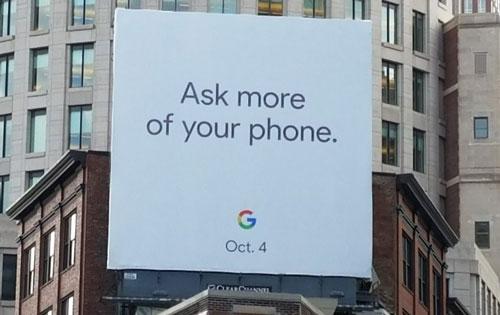 affiche Google