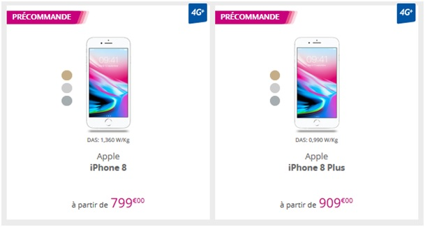 iphone 8 bouygues telecom