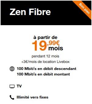 Livebox Zen Fibre