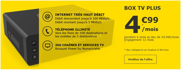 La Poste Mobile Box TV Plus