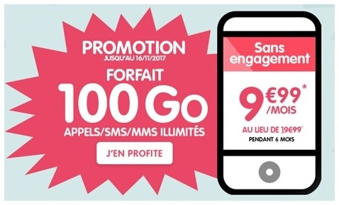 Forfait Woot Nrj Mobile