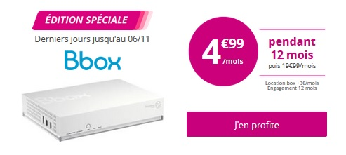 Bbox Standard Bouygues Telecom
