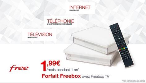Vente privée Freebox