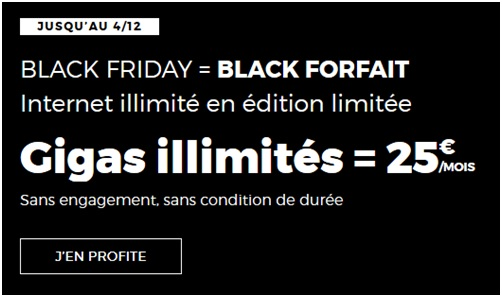 Black forfait RED by SFr