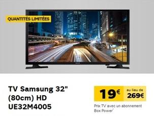 TV Samsung SFR
