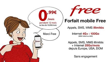 Forfait Free