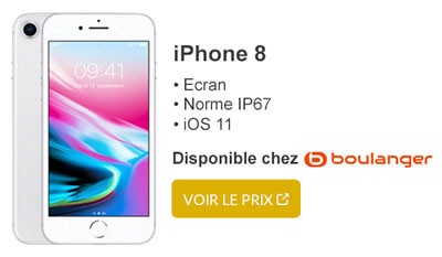 iphone 8 boulanger