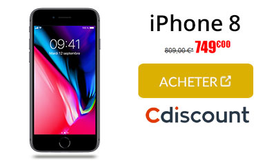 iphone 8 cdiscount
