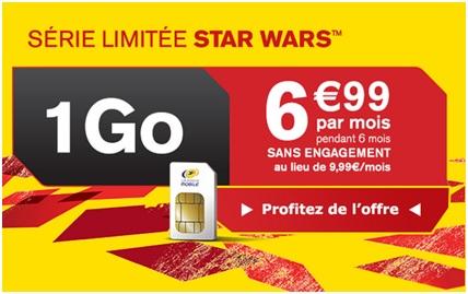 Série Limitée Star Wars 1Go