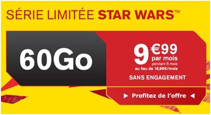 Série Limitée Star  Wars 60Go