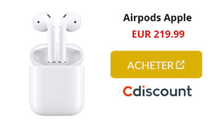 airpods cdiscount