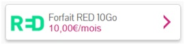 Forfait RED 10Go