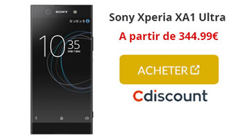 Xperia XA1 ultra cdiscount