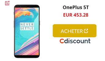 CTA OnePlus 5t