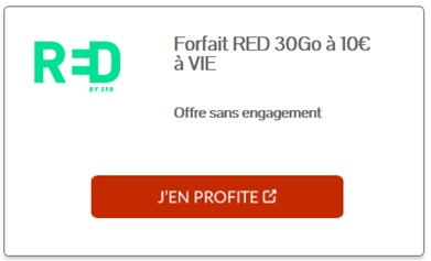 red by sfr promo