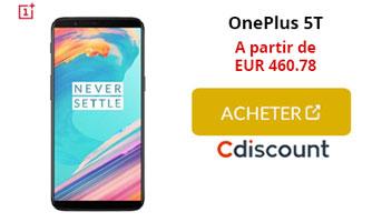 OnePlus 5t cdiscount