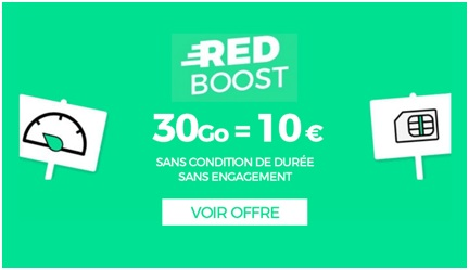Forfait RED 30Go