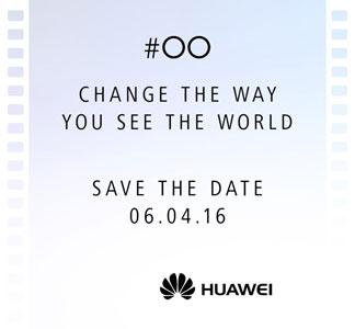 Invitation Huawei P9
