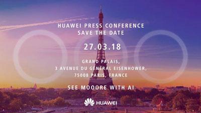 Conférence huawei