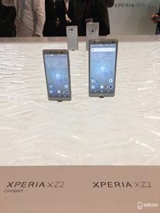 XZ2 et XZ2 Compact