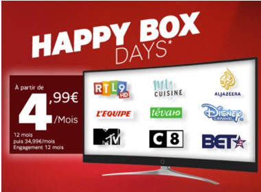 sfr happy box days
