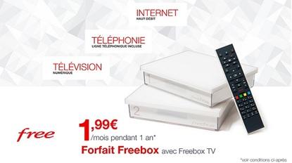 Vente privée Freebox Crystal