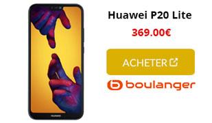 Huawei P20 Lite Boulanger