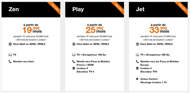 box internet les offres livebox prix promo chez orange jusqu 39 au 4 avril. Black Bedroom Furniture Sets. Home Design Ideas