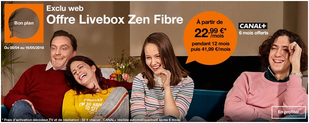Orange Livebox Zen