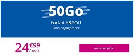B&YOU 50Go