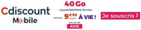 cdiscount-40go CLÉS