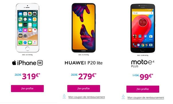 Smartphones Bouygues Telecom