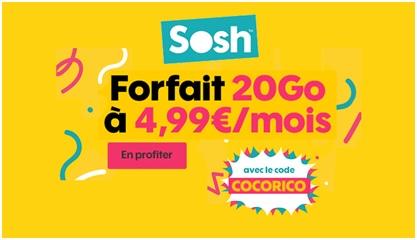 Forfait Sosh