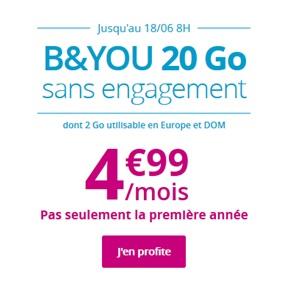 Forfait B&YOU de Bouygues Telecom