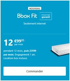 Bbox Fit de Bouygues Telecom
