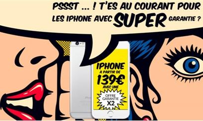 iPhone reconditionnes vente du diable