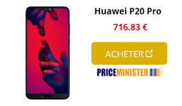 huawei p20 pro price minister
