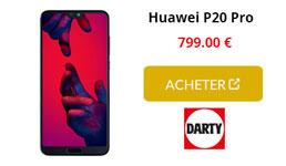 huawei p20 pro darty