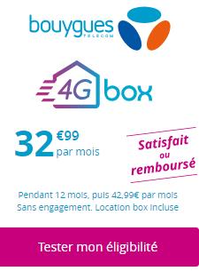 test eligibilité 4G Box de Bouygues