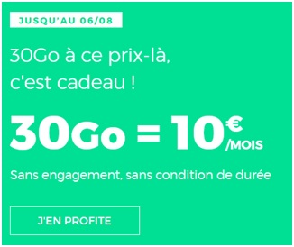 Forfait RED by SFR 30Go