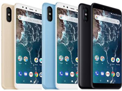 Xiaomi mi a2 coloris
