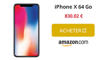 iphone x 64 Go