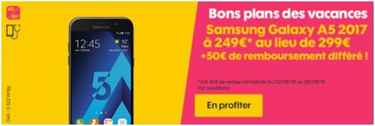 Samsung Galaxy A5 2017 Sosh