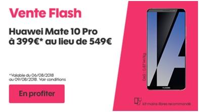 Vente flash Huawei Mate 10 Pro