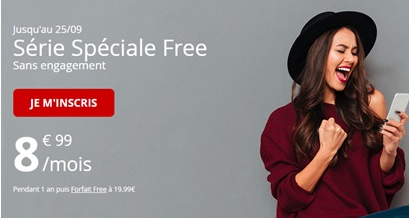 série spéciale 60Go Free Mobile