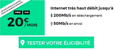 RED Fibre ou ADSL